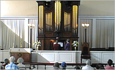 Andover Organ Sound & Video